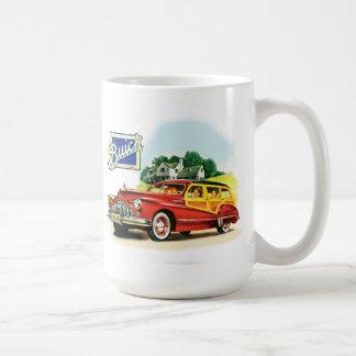 Vagão arborizado de Buick Caneca De Café