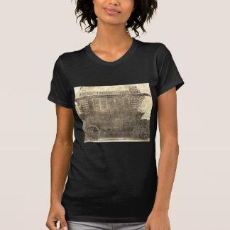 Vagão do cigano do vintage camiseta