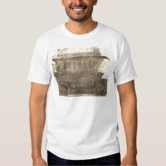 Vagão do cigano do vintage camisetas
