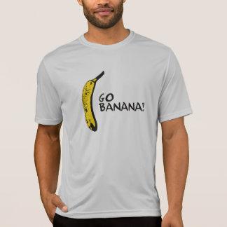 Vai a camisa da competição da banana t-shirt