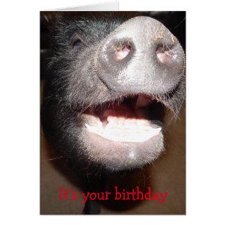 Vai adiante e guincha, o cartão de aniversário do