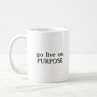 vai de propósito a caneca de café viva