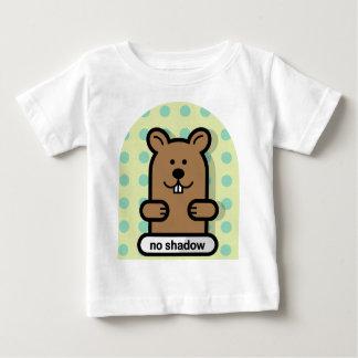 Vai Groundhog! Camiseta Para Bebê
