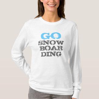 Vai o hoodie do passatempo das senhoras da camiseta