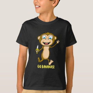 Vai o t-shirt do Hanes TAGLESS® dos miúdos das Camiseta