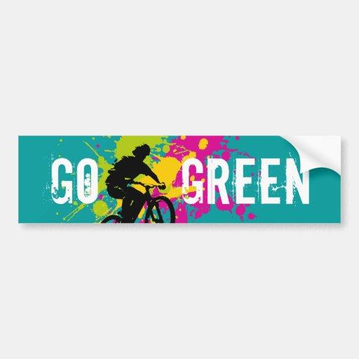 Vai o verde adesivos