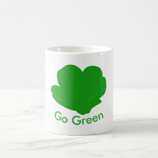 Vai o verde caneca de café