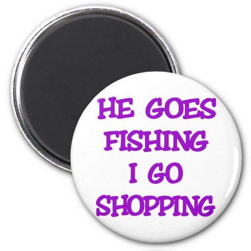 Vai pescando mim vai comprar ima