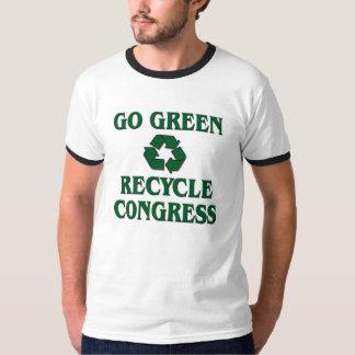 Vai verde - o congresso do reciclar camisetas