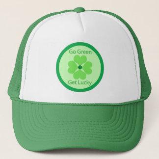 Vai verde obtem afortunado - o boné