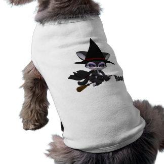 Vaia! Camisa do Dia das Bruxas do cão Camiseta Para Cães