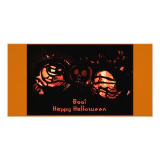 Vaia o Dia das Bruxas feliz Cartão Com Foto