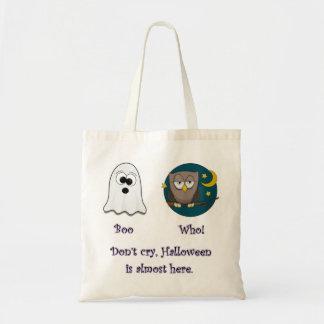 Vaia que o fulgor escuro da coruja rotula a sacola bolsas para compras