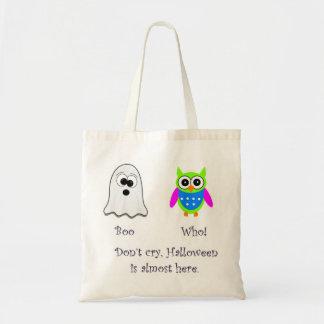 Vaia que sacola verde da coruja bolsa para compras