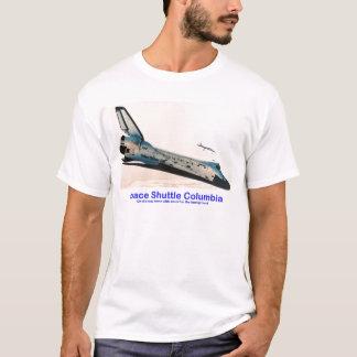 Vaivém espacial Colômbia que retorna em casa Camiseta