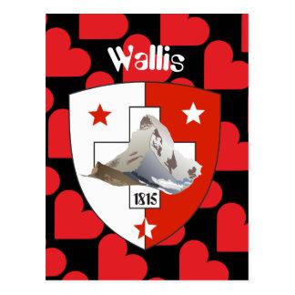 Valais Suisse/Wallis Suíça cartão postal