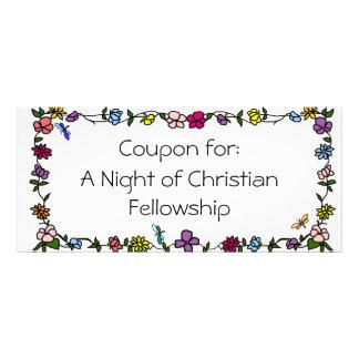 Vale cristão da bolsa de estudo 10.16 x 22.86cm panfleto
