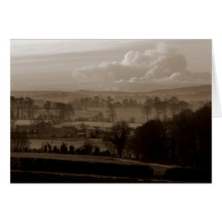 Vale de Darenth, Shoreham, Sevenoaks em Kent Cartão Comemorativo