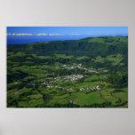 Vale de Furnas - Açores Poster