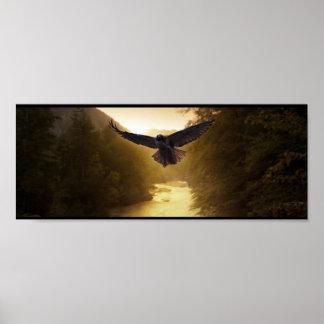 Vale Eagle Impressão