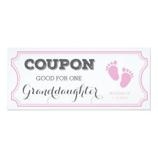 Vale para um anúncio do bebê da neta