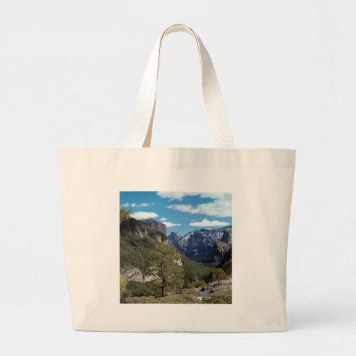 Vale Vista Yosemite da montanha Bolsas Para Compras