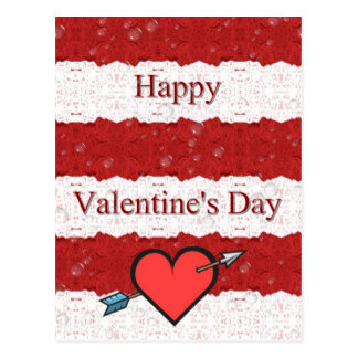 Valentine&apos feliz; dia de s cartoes postais