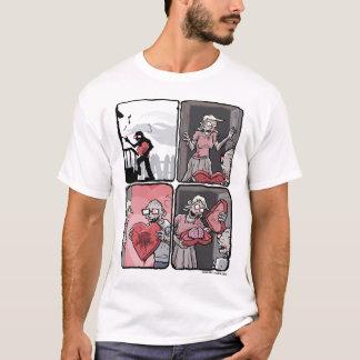 Valentines zombie camiseta