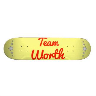 Valor da equipe skate