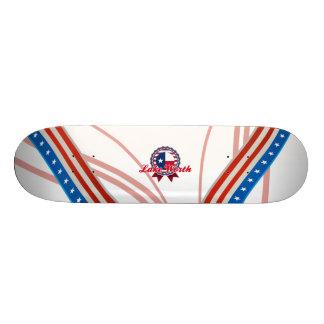 Valor do lago, TX Skate Personalizado