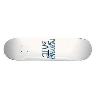 Valor Fashionably atrasado a espera Shape De Skate 21,6cm