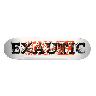 valores do desenho, XAUTIC, EXAUTIC Shape De Skate 19,7cm