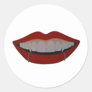 Vampire teeth adesivo