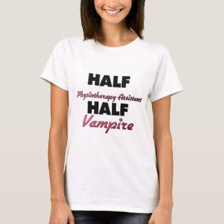 Vampiro assistente da meia fisioterapia meio camiseta