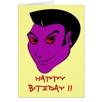 Vampiro Darkling - cartão da celebração