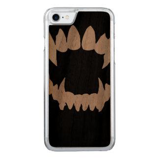 Vampiro do Dia das Bruxas - dentes do vampiro Capa iPhone 8/ 7 Carved