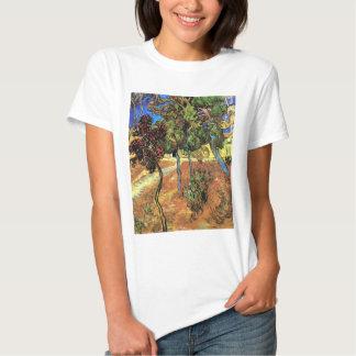 Van Gogh - árvores no jardim do hospital de St Camiseta