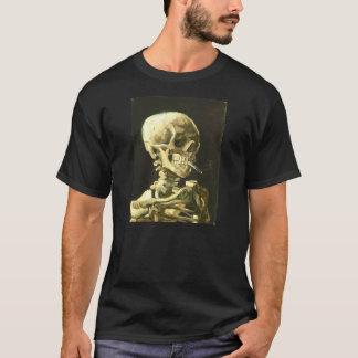 Van Gogh - cabeça de um esqueleto Camiseta