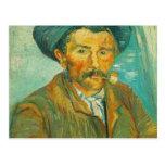 Van Gogh o fumador Cartões Postais