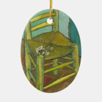 Van Gogh Ornamento De Cerâmica Oval