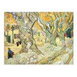 Van Gogh os cerzidores de estrada Cartões Postais