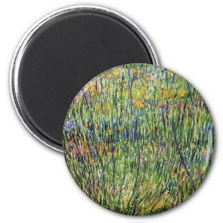 Van Gogh - pasto na flor Imãs De Refrigerador