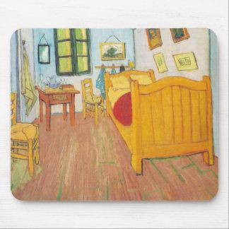 Van Gogh - quarto em Arles (1889) Mouse Pad