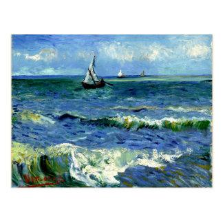Van Gogh - Seascape Cartão Postal