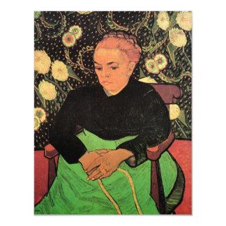 Van Gogh; Senhora Roulin Rocking o berço Convites Personalizados