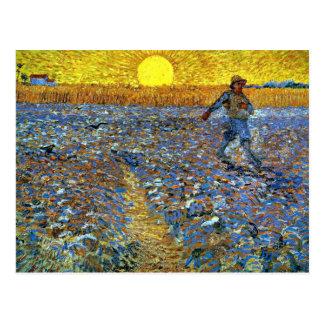Van Gogh - Sower Cartão Postal