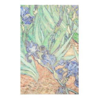 Van Gogh torna iridescentes artigos de papelaria