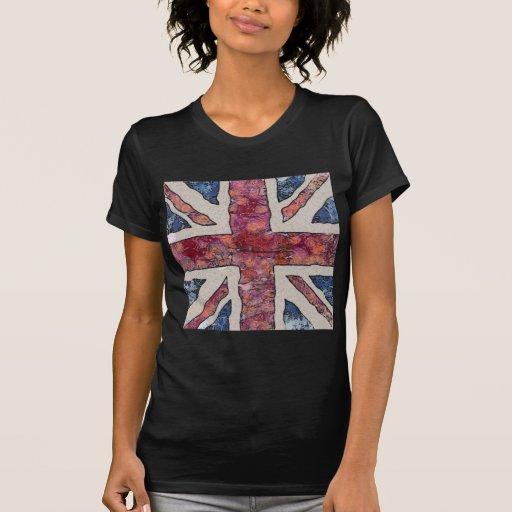 Van Gogh Union Jack Camisetas