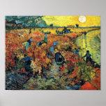 Van Gogh - vinhedos vermelhos em Arles
