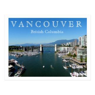 Vancôver, BC Cartão Postal